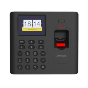 DS-K1A801 Fingerprint Time Attendance Terminal Standalone Access Control Terminal LCD Display Standalone Terminal, Support Time Attendance Function