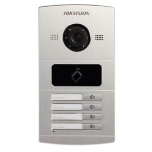 DS-KV8402-IM Water Proof Metal Villa Door Station 1.3 MP Villa Door Station, 4 Button