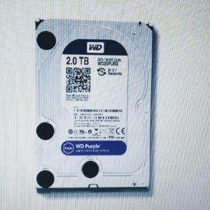 WD20PURX-78 HDD 2TB